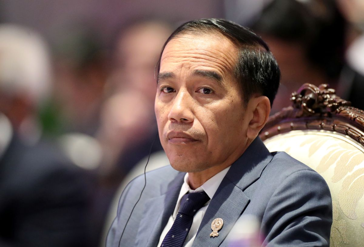 Indonesian president's approval hit by handling of pandemic: Survey