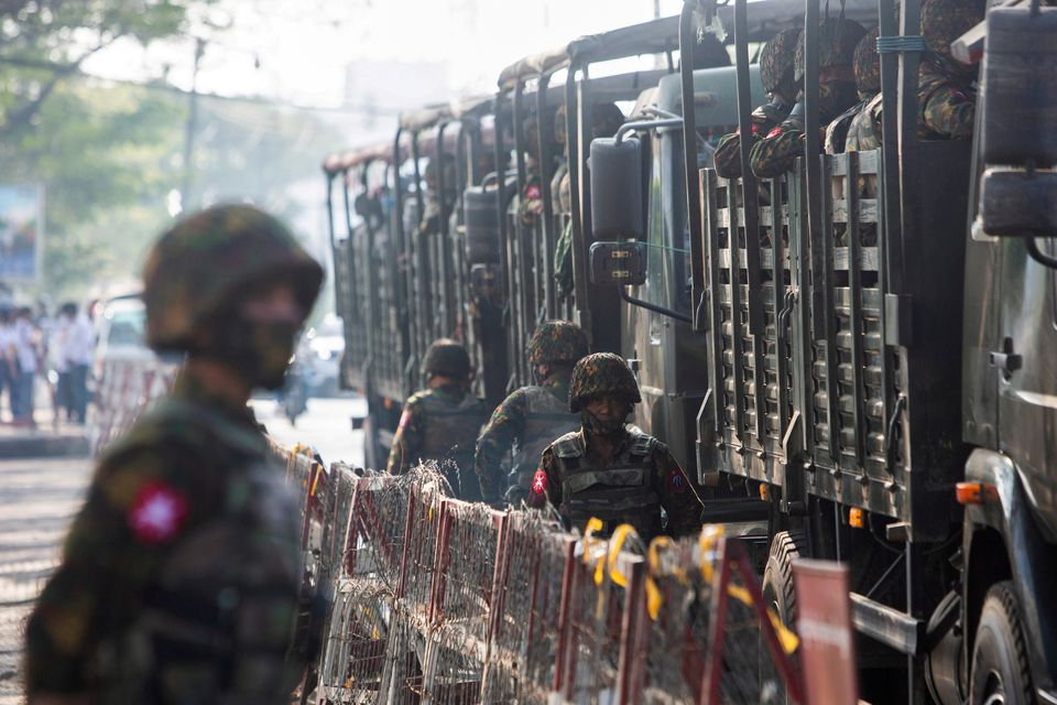 Death Toll from Myanmar Military Coup Passes 1,000
