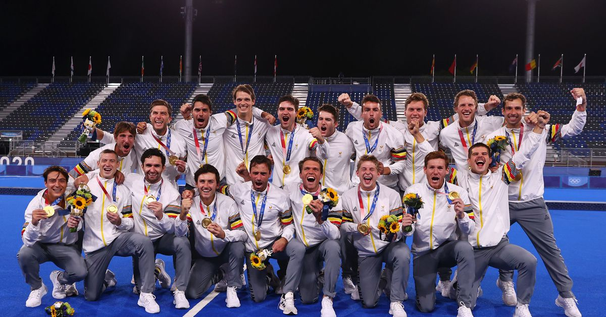 Hockey-Belgium claim first gold after shootout win over Australia