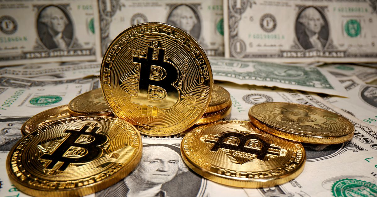 Photo of Bitcoin rises 5.6% to $49337.72