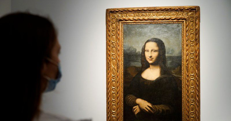 Mona Lisa up for auction? Not quite