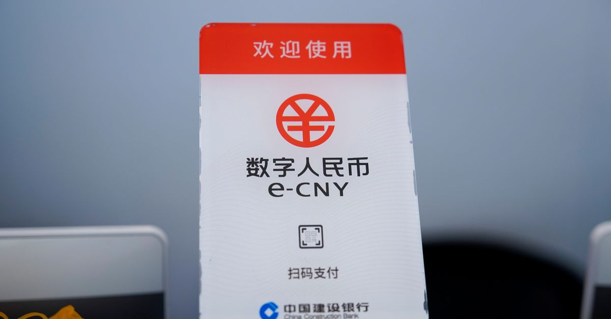 Chinese central bank's digital yuan given trial by lottery thumbnail