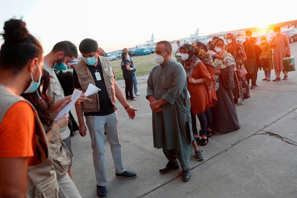 U.S., Spain Agree to Use of Military Bases in Spain for Afghan Refugees