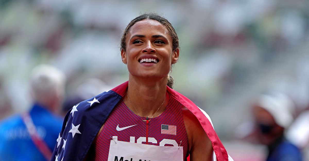 Athletics-American McLaughlin breaks world record to win women's 400 hurdles