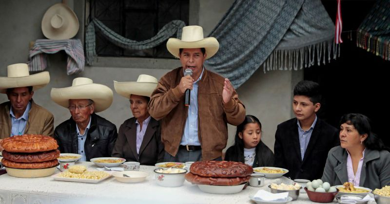 'El profesor': Peru's Castillo rises from peasant roots to cusp of presidency