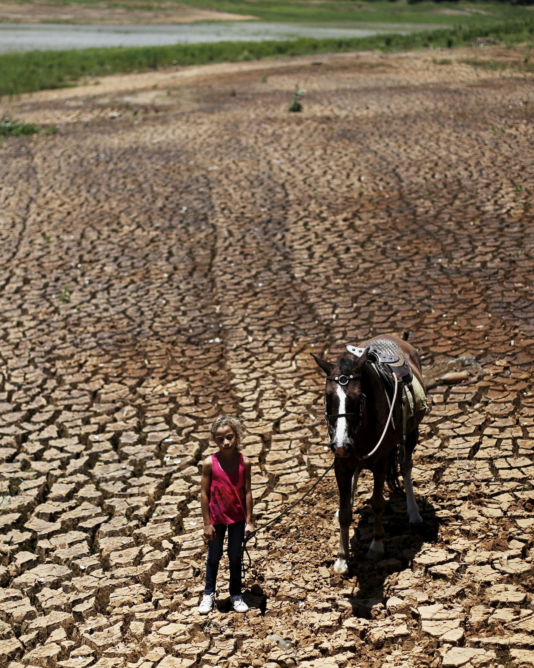 cracked ground brazil drought