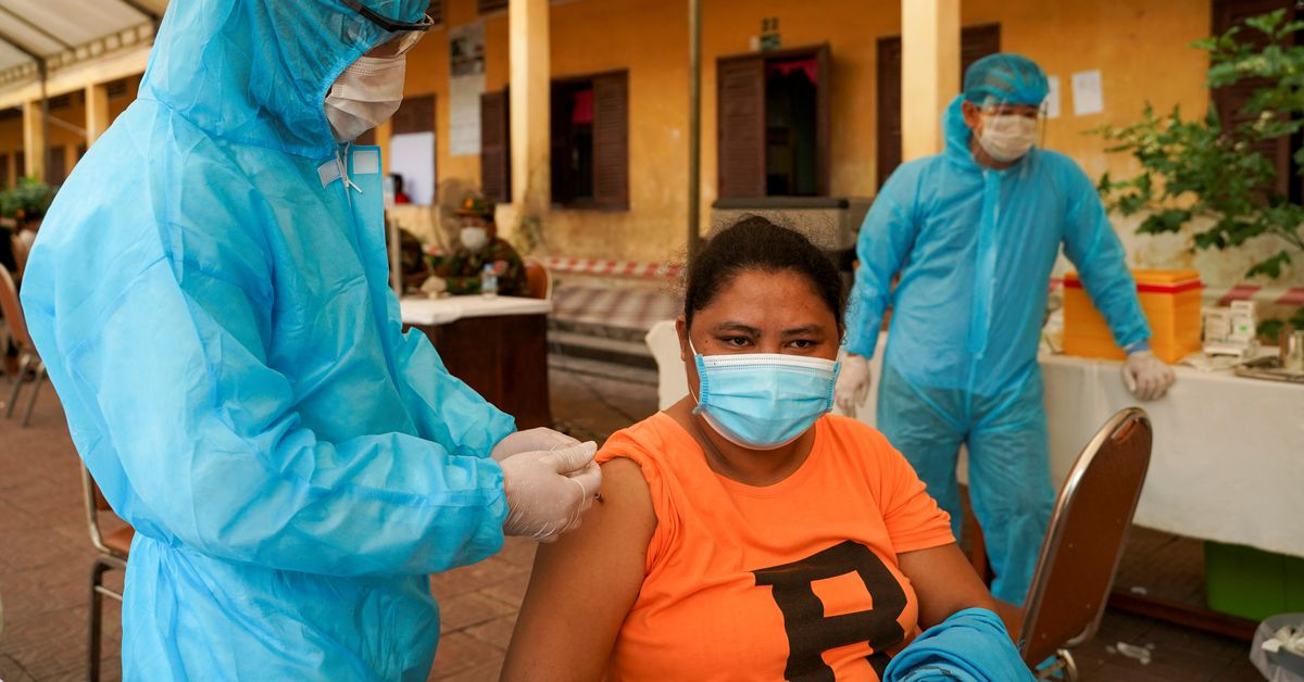 www.reuters.com: Cambodia to mix vaccines as booster shots to fight COVID