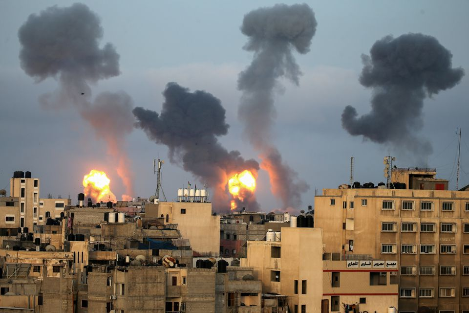 Israel Bombs Hamas Sites in Gaza Over Incendiary Balloons