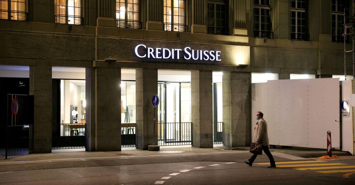 Fearing predators, Credit Suisse seeks new look or even merger-sources