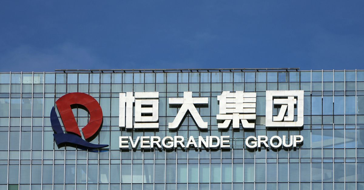China Evergrande's electric car unit's shares tumble 26% after warning – Reuters