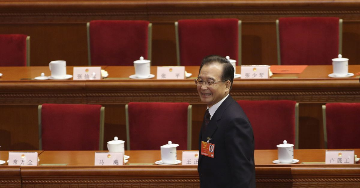 China censors ex-premier article before Communist Party anniversary