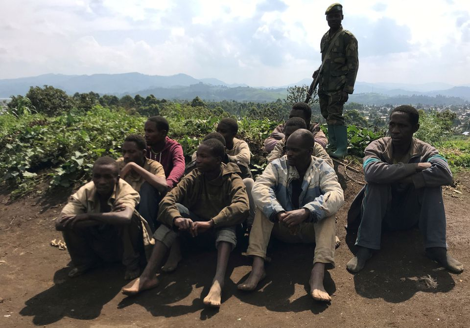 Democratic Republic of the Congo: Dozens of rebels lay down weapons in the east