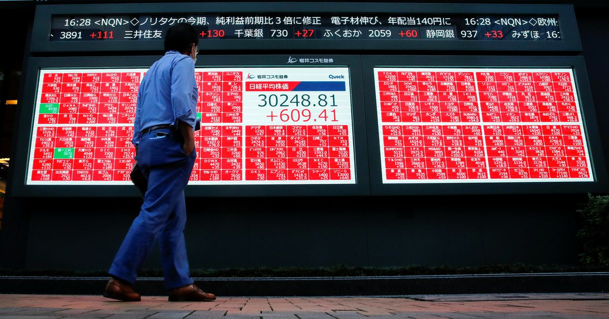 Cổ phiếu châu Á tăng do giá dầu giảm và Xi-Biden có thể gặp nhau