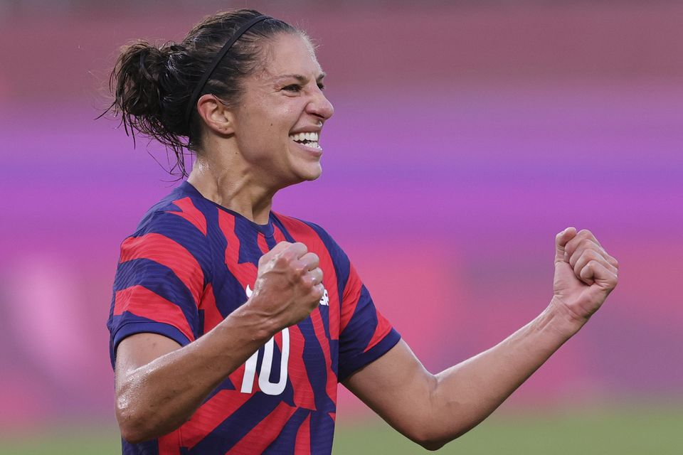 USWNT Legend Carli Lloyd Announces Retirement After Two World Cup Wins and Two Olympic Gold Medals