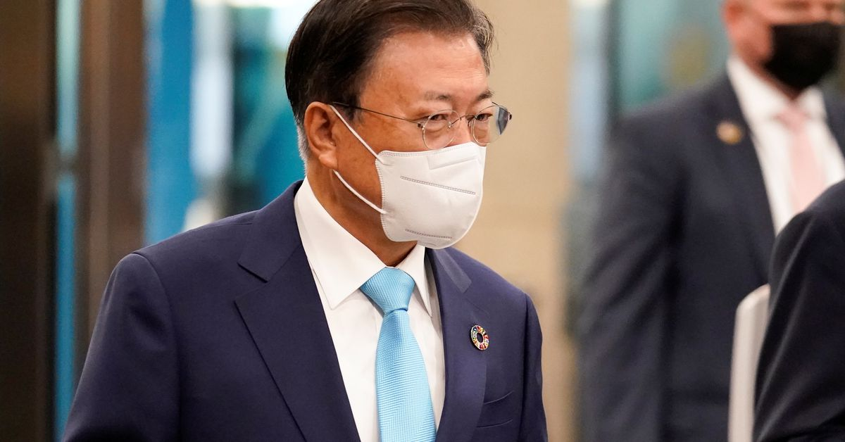 Image S.Korea's Moon to attend COP26 climate talks, G20 summit - Reuters