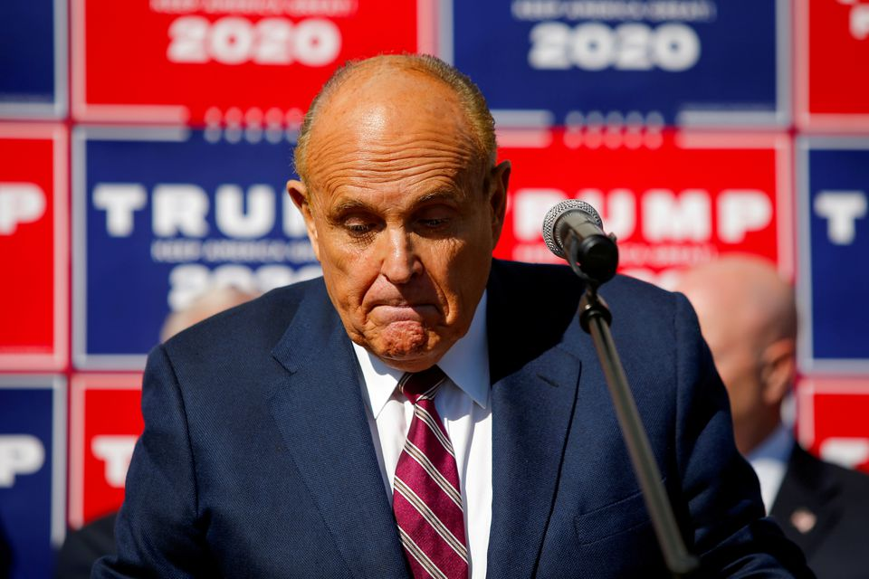 Rudy Giuliani Suspended from Practicing Law in New York
