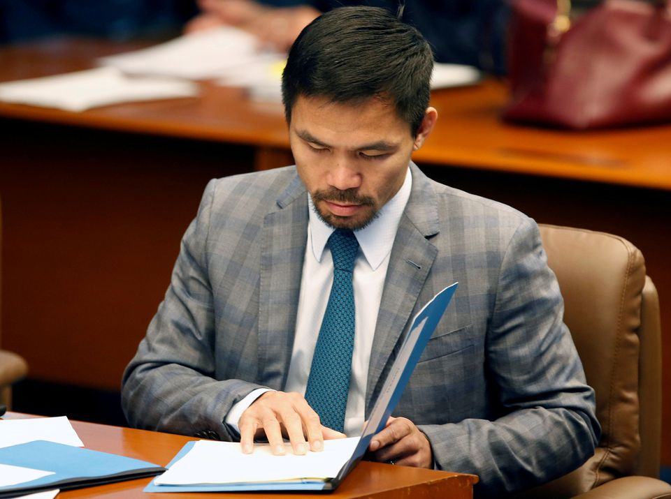 Boxer Manny Pacquiao Plans to Run for Philippine President in 2022 to Fight Government Corruption