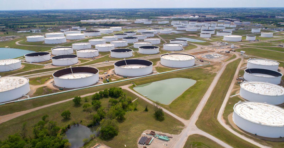U.S. demand for oil rises is depleting tanks in Oklahoma