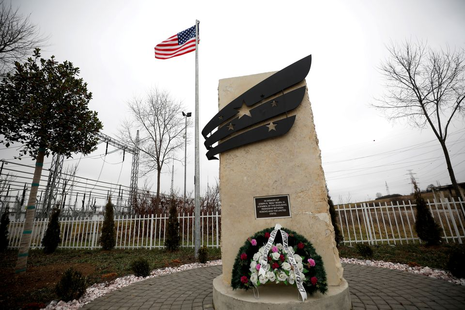Kosovo Honors U.S. President Biden's Late Son Beau