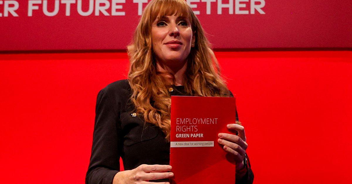 UK Labour deputy leader calls governing Conservatives 'scum' – Reuters UK