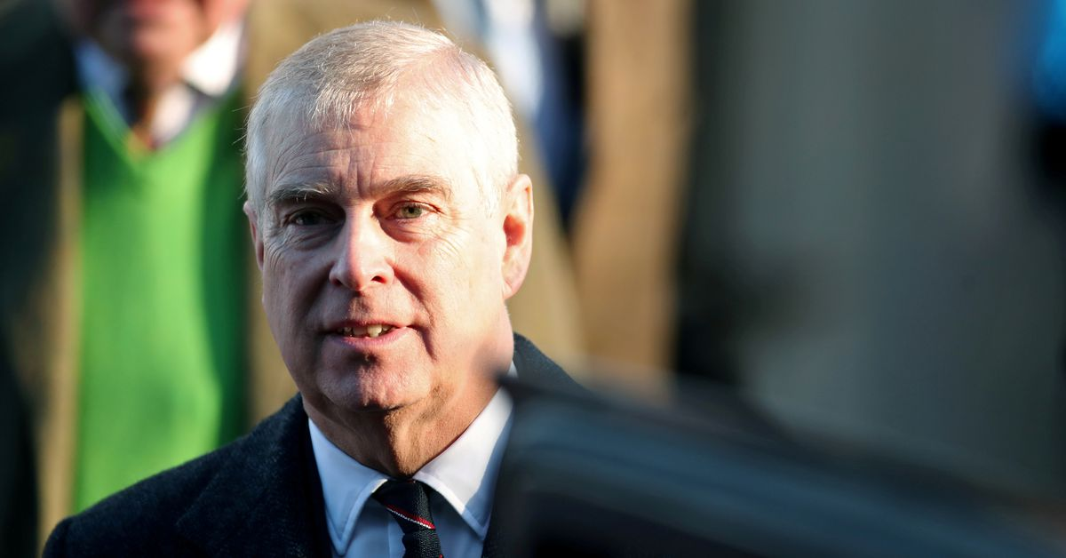 UK court to ensure sexual assault papers can be served on Prince Andrew