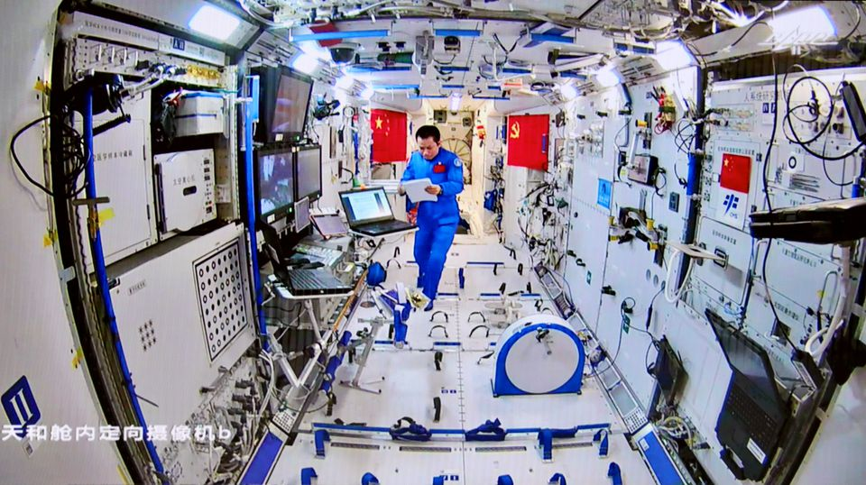 Three Astronauts Leave China's Space Station Module for Earth After 90 Days