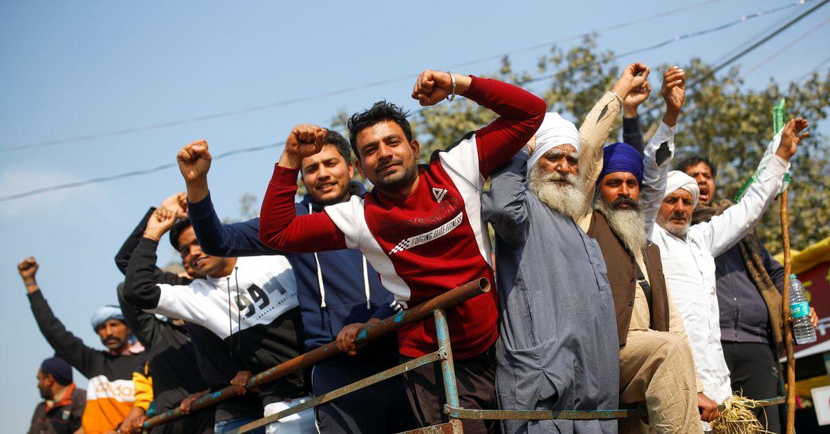 reuters.com - Mayank Bhardwaj - India's record rice crop brings problem of plenty for farmers juggling protest