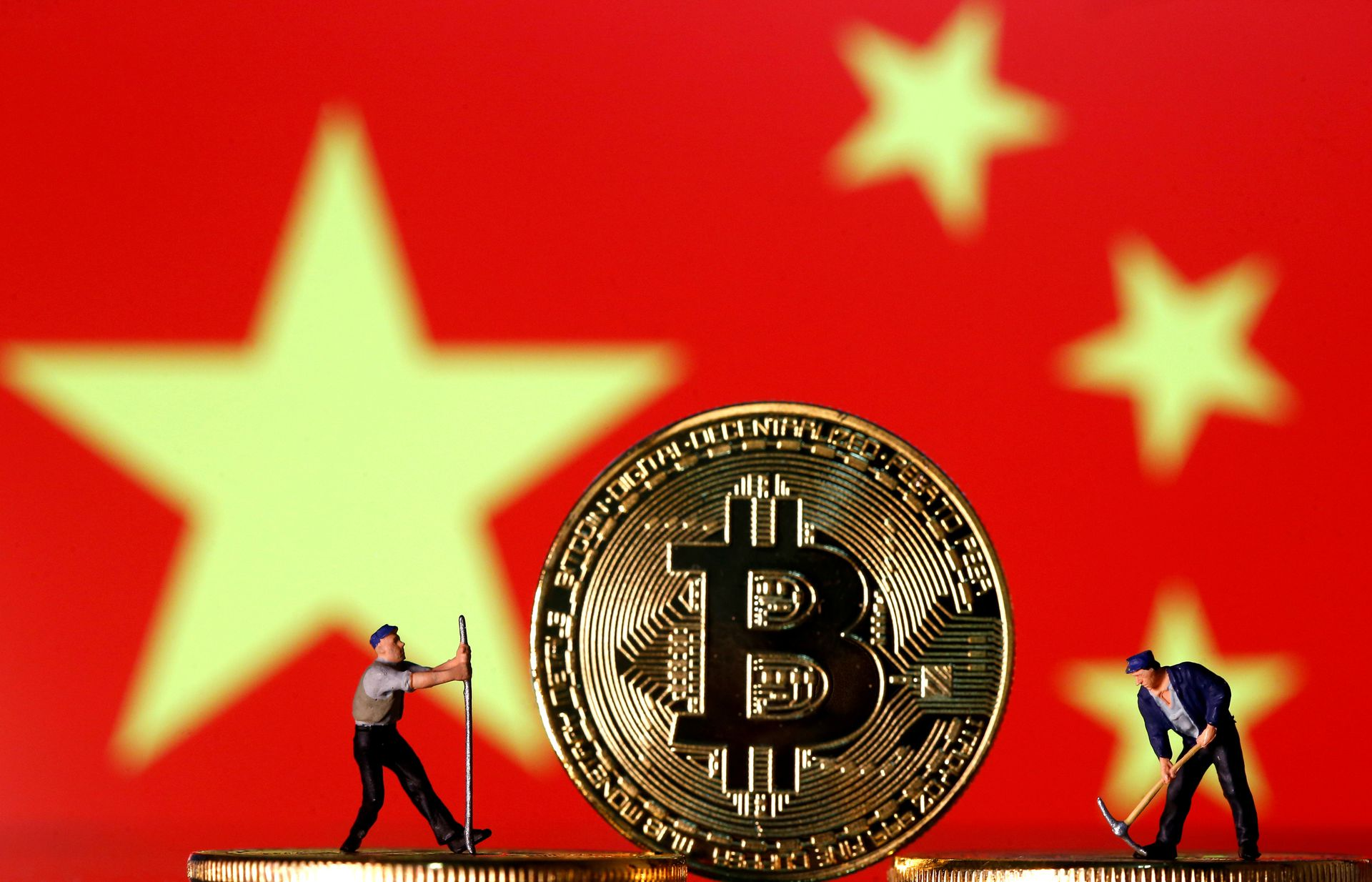commercio bitcoin yuan
