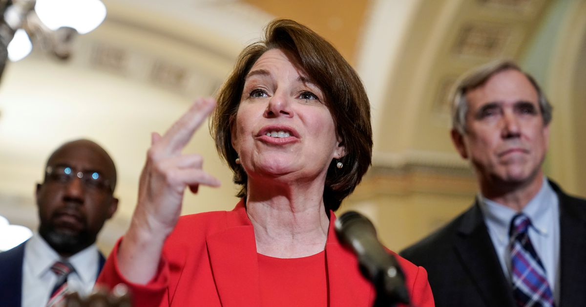 WASHINGTON, July 22 (Reuters) - Two Democratic U.S. senators on Thursday will add to the stack of bills going after Section 230 - a law that protects