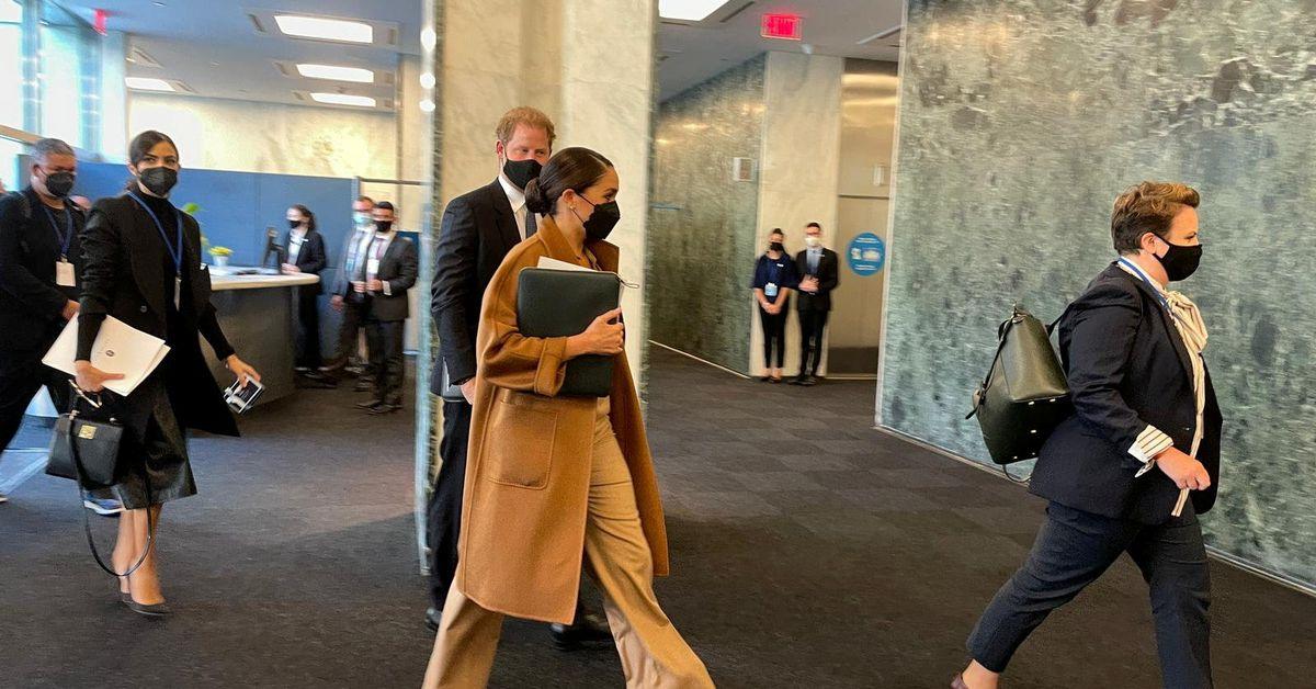 Khi Harry – và Meghan – gặp phó trưởng Liên hợp quốc ở New York