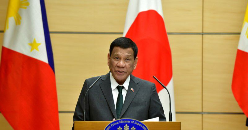 Philippines' Duterte will not cooperate with ICC probe into killings