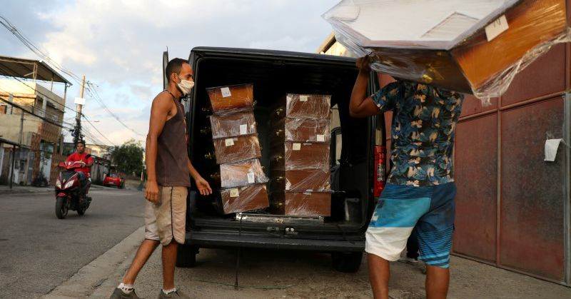 Brazil reports 2,997 COVID-19 deaths in 24 hours -health ministry