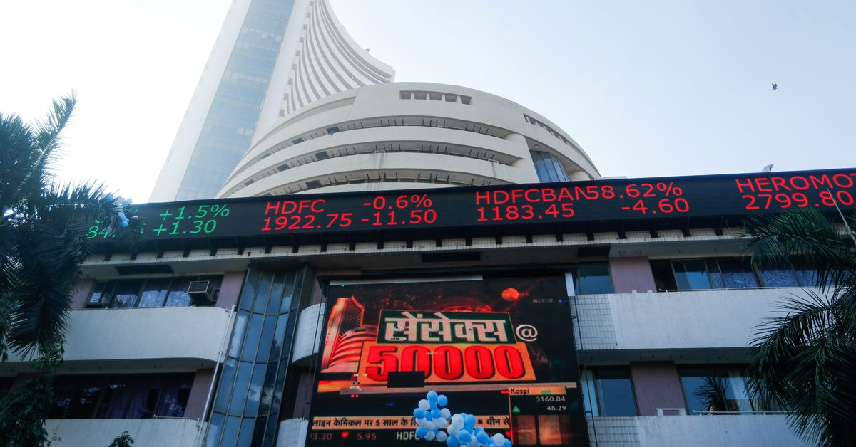 Indian shares end higher; markets await RBI policy decision - Reuters India