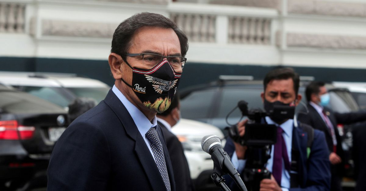 Peruvian ex-president Vizcarra banned from public office over vaccine scandal