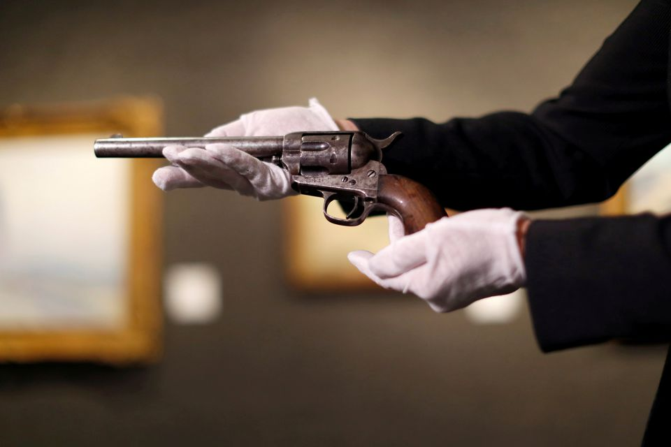 Gun that Killed Billy the Kid Auctioned for M