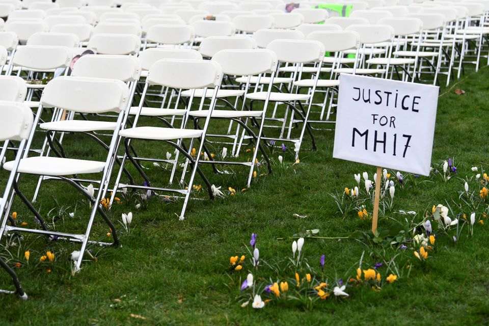 Families Testify at Trial of Dutch MH17 Plane that was Shot Down Over Ukraine, Killing 298 People
