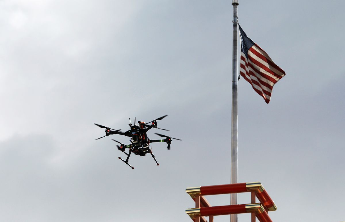New rules allowing small drones take effect
