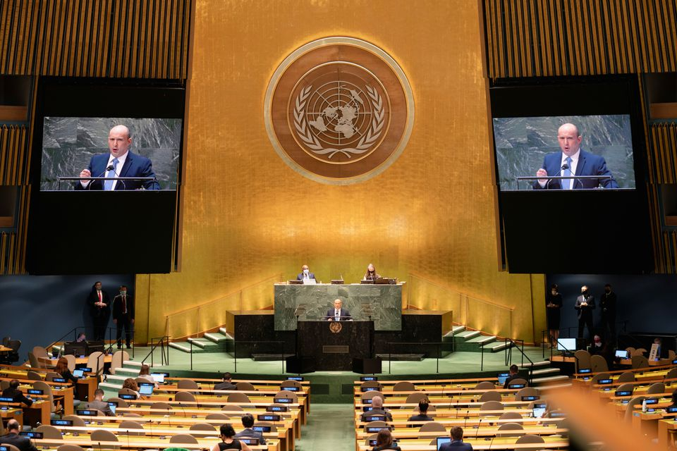 At U.N., Israeli PM Bennett Says Iran has Crossed All Nuclear 'Red Lines'