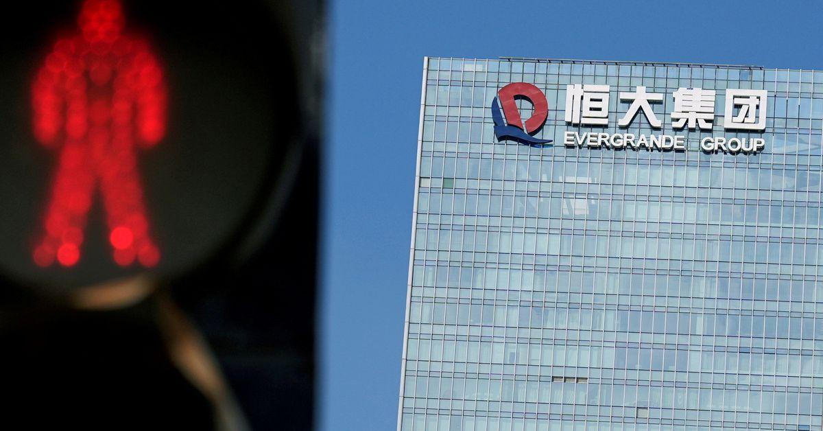 Evergrande, EV unit shares jump after chairman signals business change