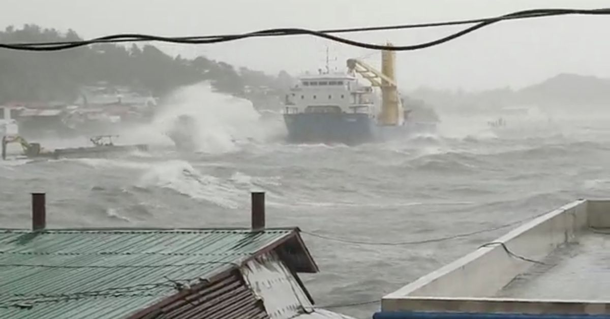 Storm in the Pacific Ocean intensifies in the first super typhoon of the year