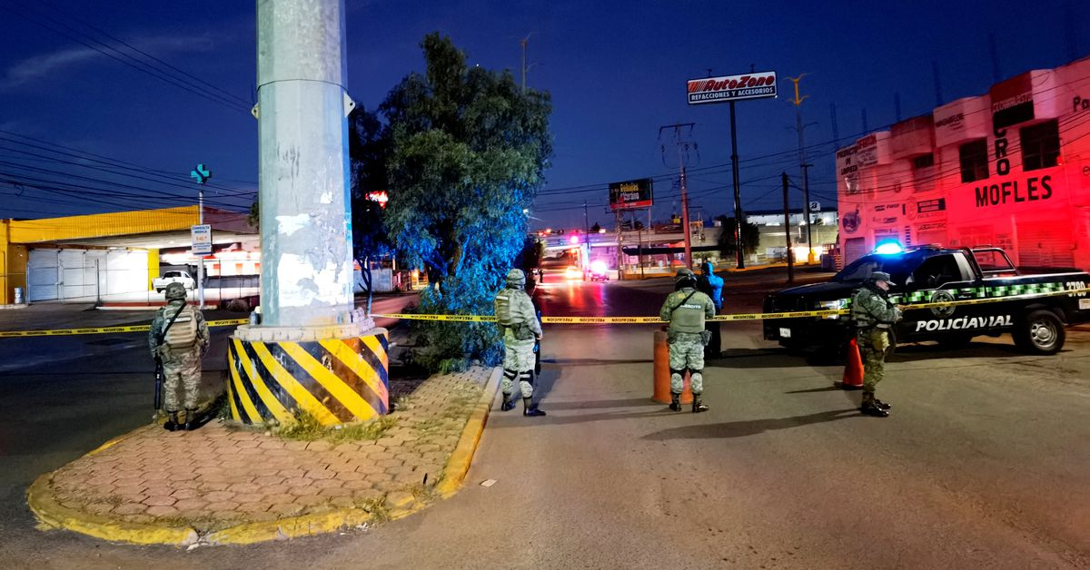 Bodies of six men found hanging from a bridge in Mexico - Reuters