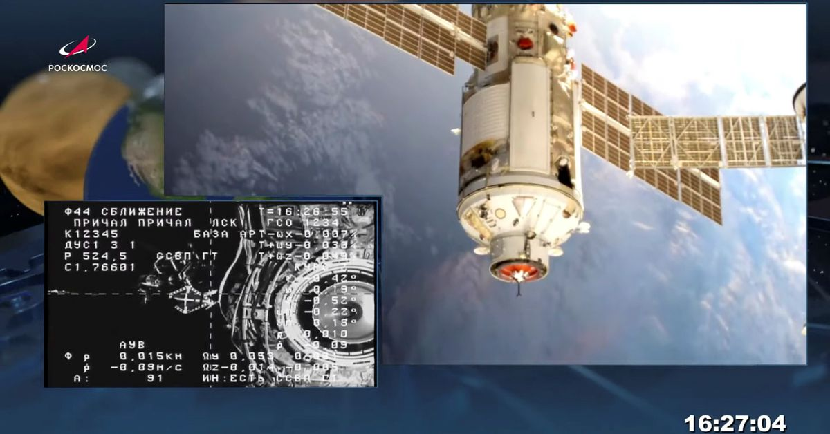Russia reports pressure drop in space station service module - Reuters