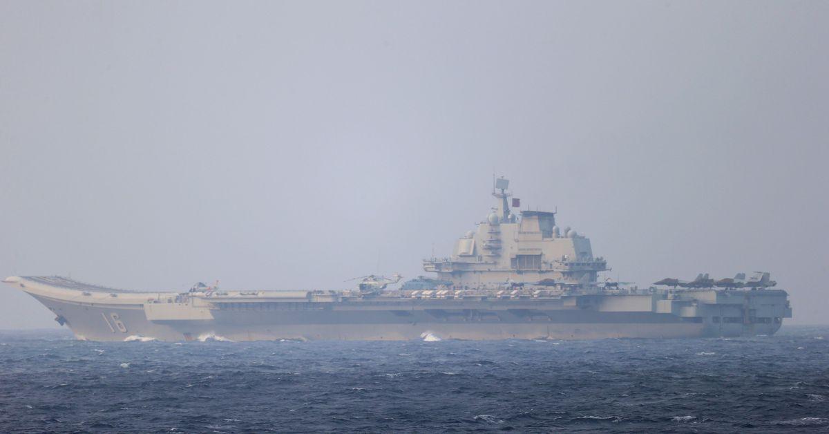 China's massed drills near Taiwan take aim at Washington audience