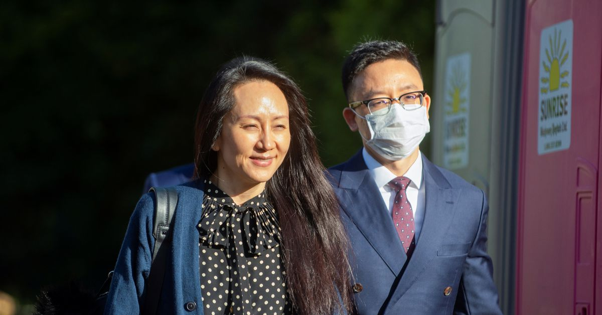 Huawei Technologies Chief Financial Officer Meng Wanzhou leaves her home to attend a court hearing in Vancouver, British Columbia, Canada September 24