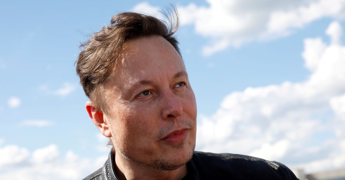 Elon Musk says he and musician girlfriend Grimes are 'semi-separated' - Reuters