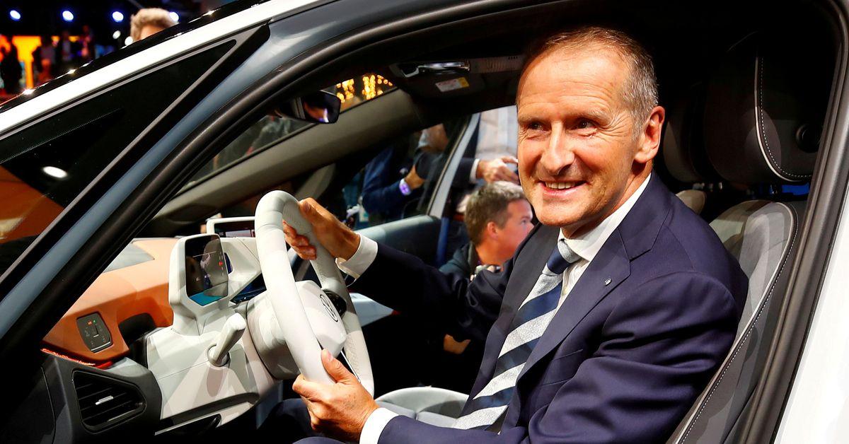 Tesla's Musk dials into Volkswagen executive conference