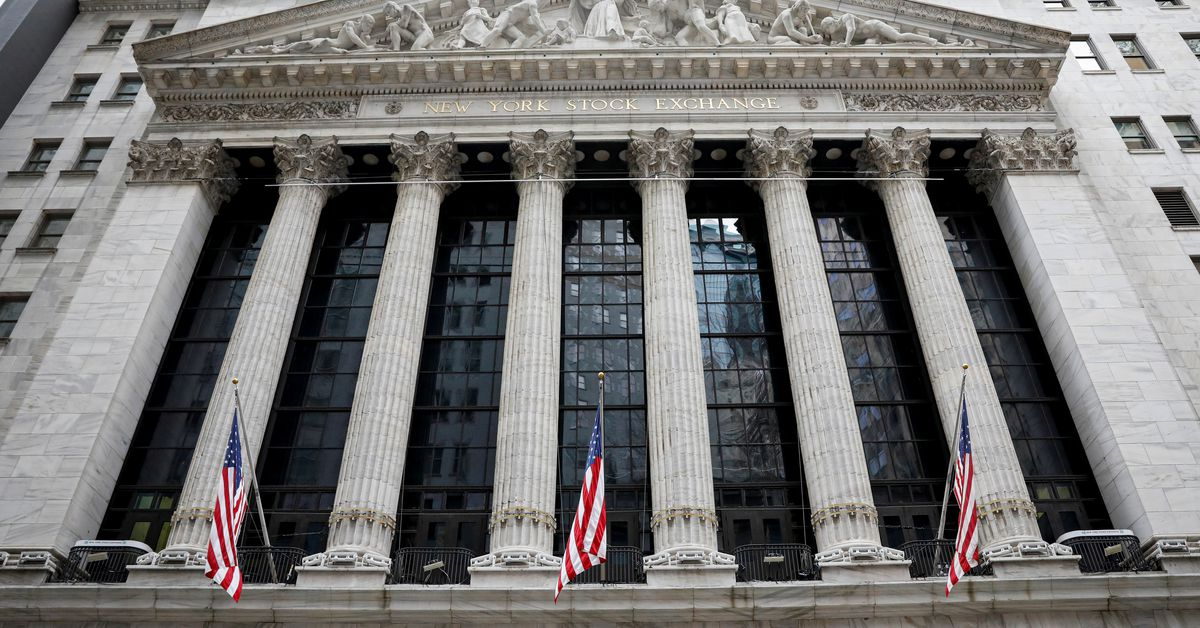 Wall St falls as development shares slip, worth performs rise on falling jobless claims