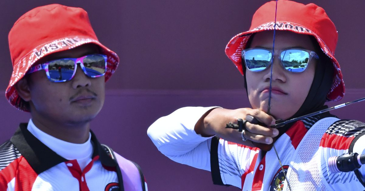 Image Archery-U.S. pair ousted in surprise loss to Indonesia - Reuters