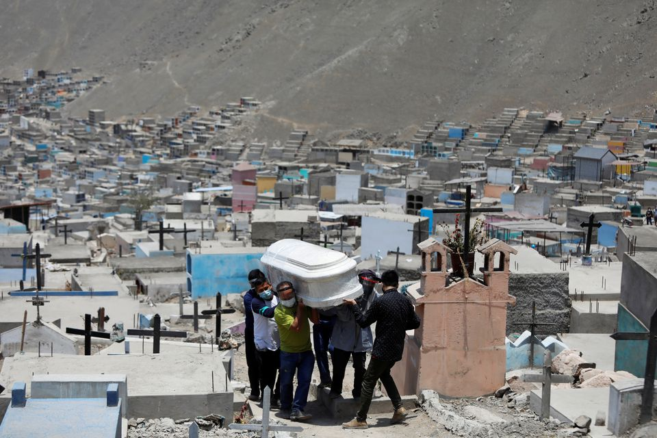 Peru Triples Official Pandemic Death Toll to Over 180,000