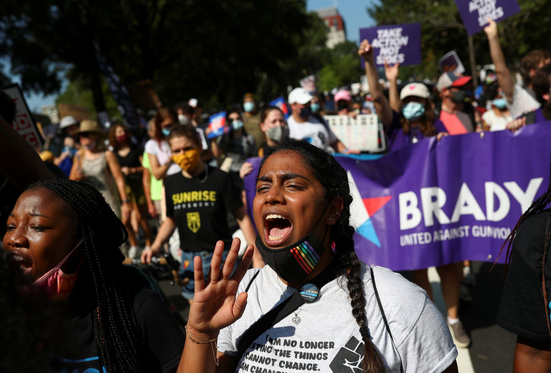 Thousands March in Washington and Other U.S. Cities to Demand Protections for Voting Rights